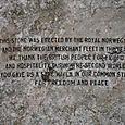 Close Up - The Norwegian Navy Memorial