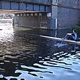 Rowing Towards Hackney Marshes