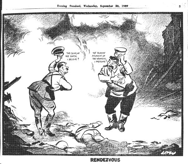 Hitler meets stalin