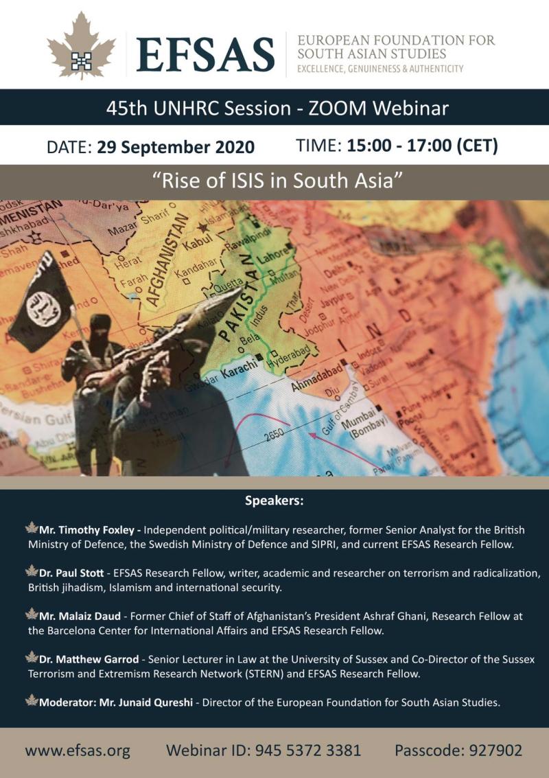 Efsas Online Event 29 09 2020