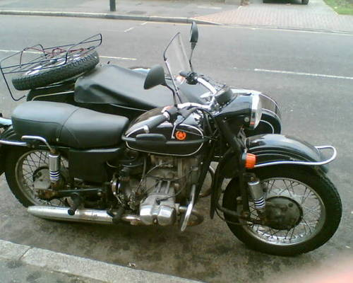 A Motorcycle Combination