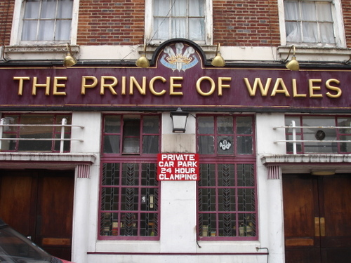 The Former Prince of Wales
