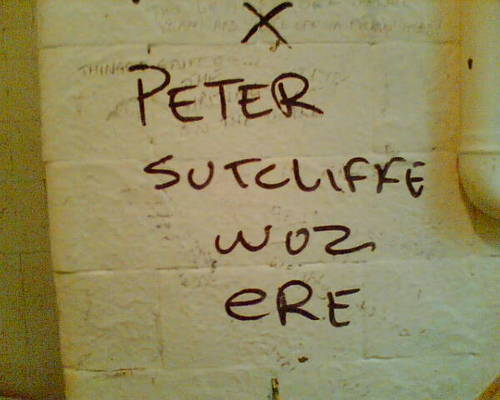 Pub Toilet Graffiti