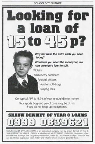 Schoolboy Finance
