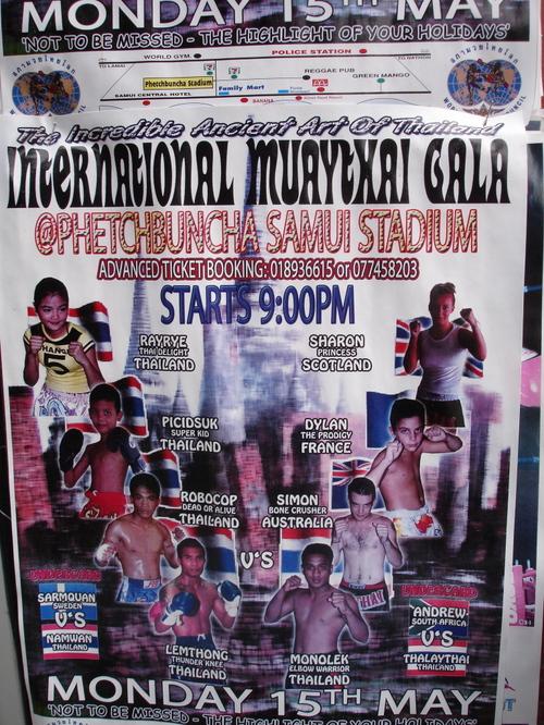 Thai Boxing Poster
